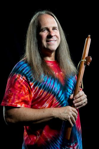 Native American Flutist Mark Holland.