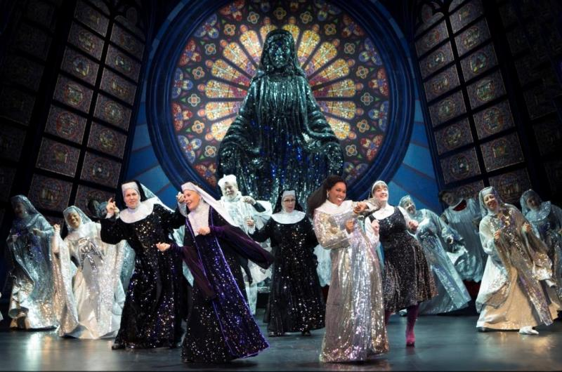 "The cast of ""Sister Act"" at the Fox Theatre through December 1st"