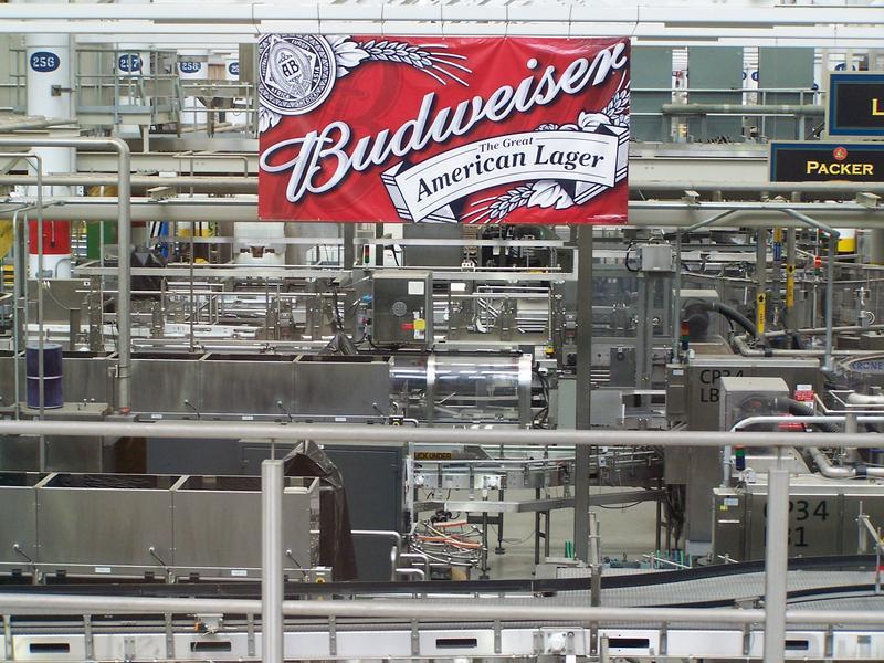 Anheuser-Busch interior