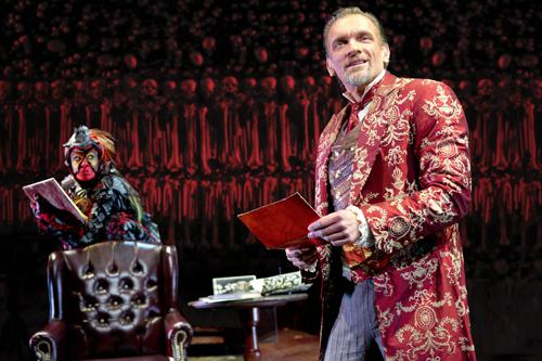 Brent Harris in the role of the demon Screwtape.