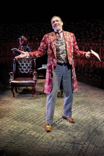 Brent Harris in the role of the demon Screwtape