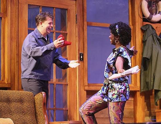 "Kathryn Bentley, right, in ""On Golden Pond"" performed in 2012 by The Black Rep, at the Grandel Theatre in Grand Center."