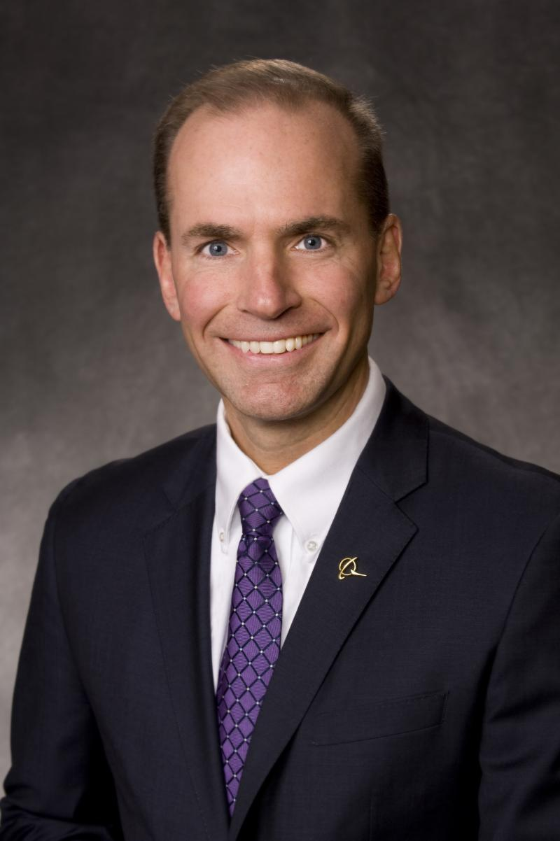 Dennis Muilenburg has been named Boeing vice chairman, president and chief operating officer.