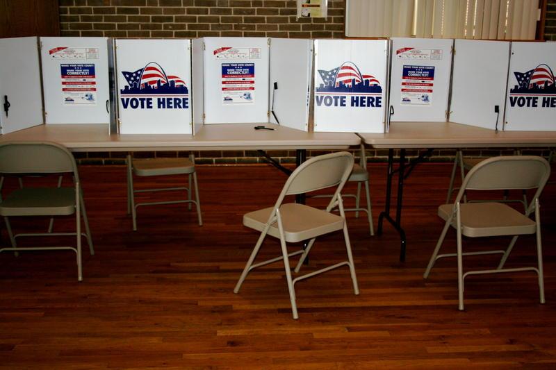 paper ballot voting places