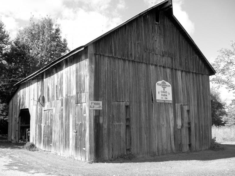 This barn sits on the property where the ax murdered occured in 1874.  The original house is no longer there.