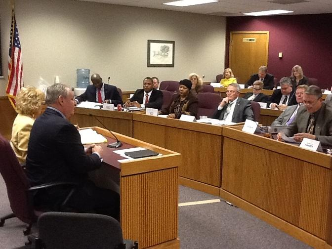 The Mo. House Economic Development Committee hears testimony on HB1498, this year's omnibus tax credit bill.