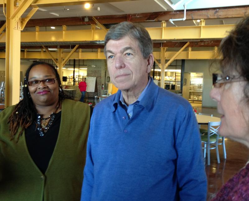 Senator Roy Blunt tours Independence Center