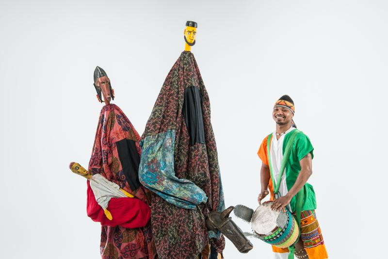 Afriky Lolo's Samba will be at COCA's Founders' Theatre Feb. 8.
