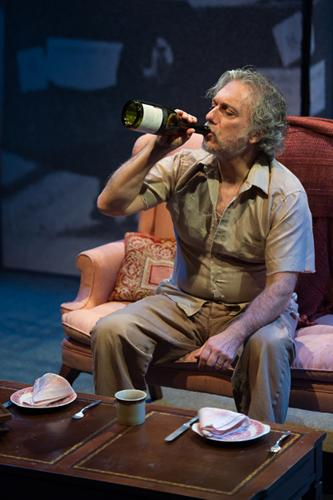"Jerry Vogel as ""Gerry"" in Upstream Theater's production of ""Forget Me Not."""
