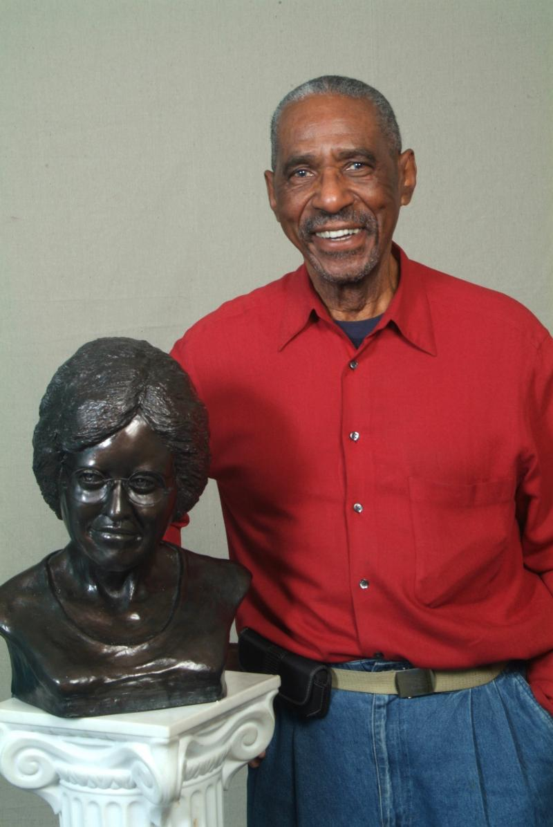 Joseph LaMarque's sculpture of Annie Turnbo Malone will be featured in a Salon 53 exhibit.