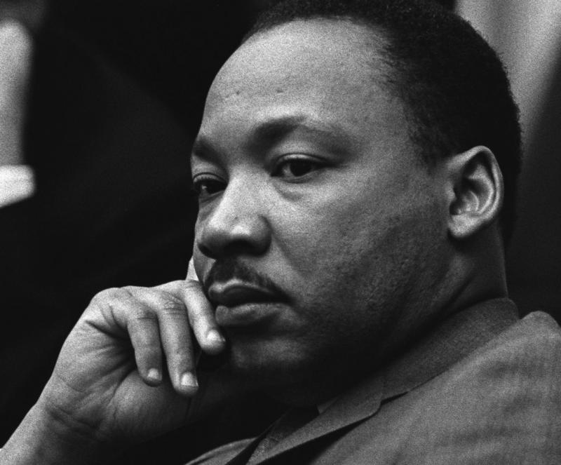 The Rev. Dr. Martin Luther King Jr. in 1966