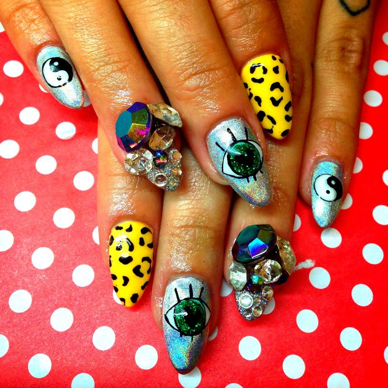 Britney Tokyo's nail art will be featured in a Jan. 24 program at the Pulitzer Foundation for the Arts.