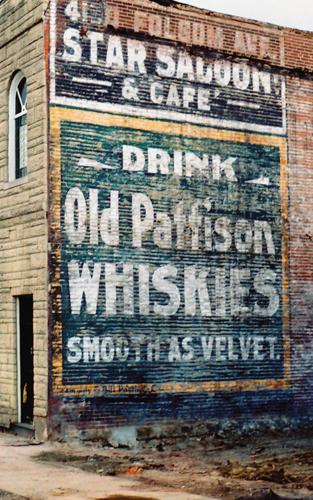 Star Saloon & Cafe / Old Pattison Whiskies, McRee Town, near Southside, 2012.