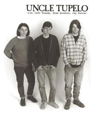 "Uncle Tupelo publicity photo from the time of the original release of ""No Depression"" in 1990."