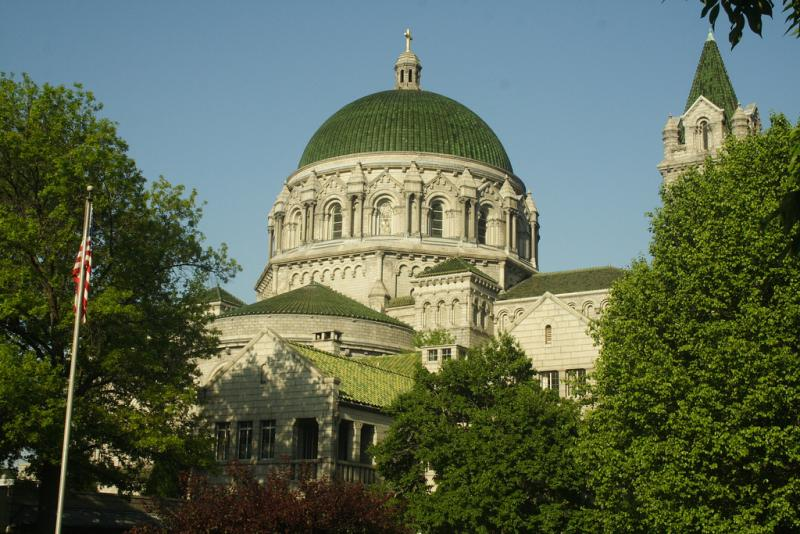 The Cathedral Basilica.
