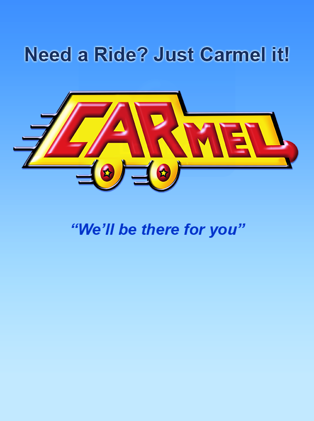Screen capture of Carmel Car's app, which will be available in St. Louis on Monday.