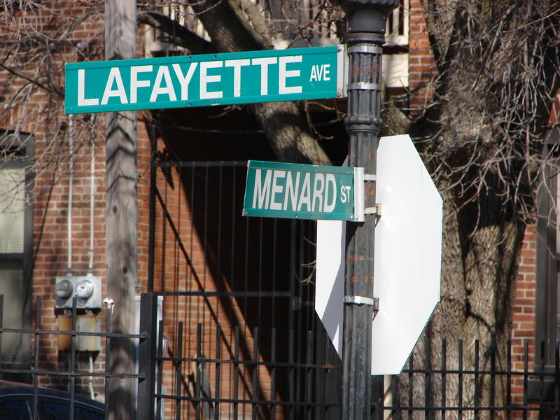St. Louis street names recall the city's French heritage.