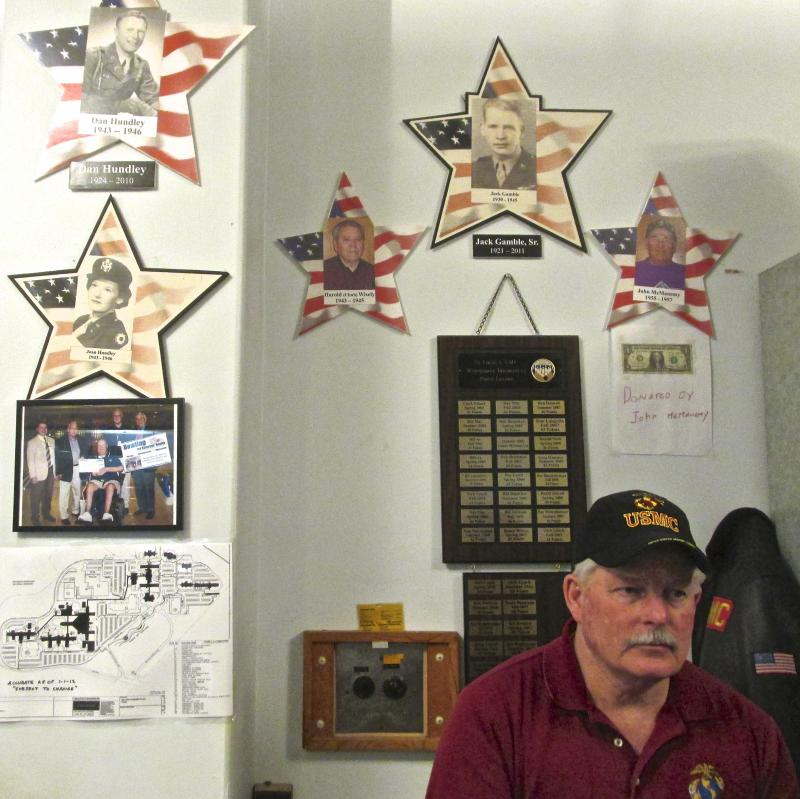 The VA staff says the volunteers are key to keeping the bowling alley running.