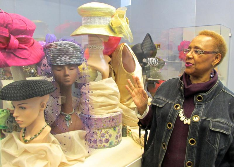 Lois Conley, founder and director of The Griot Museum of Black History, is fond of a special exhibit on the tradition of hat-wearing in the African-American community.