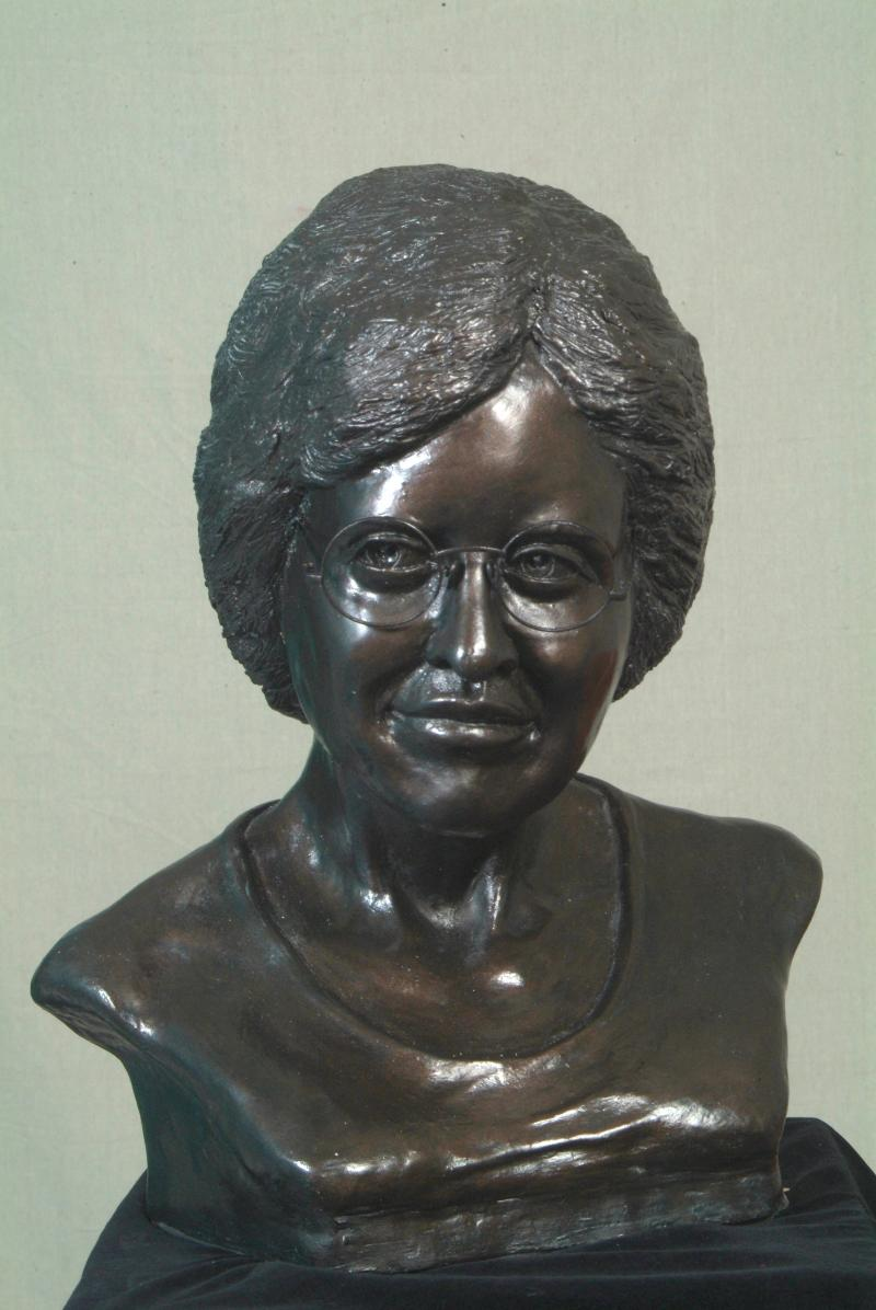 Sculpture of Annie Turnbo Malone by Joseph LaMarque