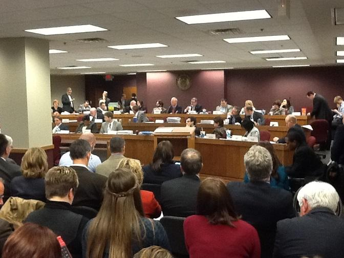 Mo. House Budget Cmte. working on the state's 13 bills that make up FY2015 budget.