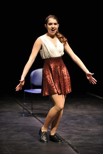 Finalist Courtney Fortner (singer and tap dancer - Parkway South HS)