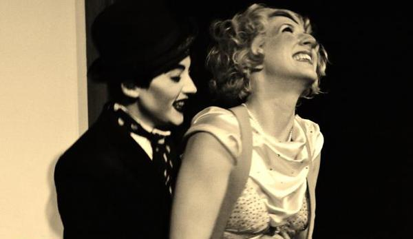 """Lola van Ella & Sammy the Tramp in """"Lady and the Tramp,""""  one of the plays performed in the  2013 Briefs Festival."""