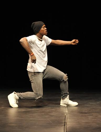 "Finalist Nigel ""Trip"" Harris-Scott  (hip hop Dancer - Webster Groves HS)"