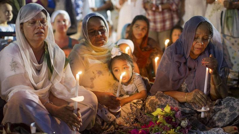One year after the hate attack, the Oak Creek, WI community comes together at The Sikh Temple of Wisconsin to remember the victims and support their families.