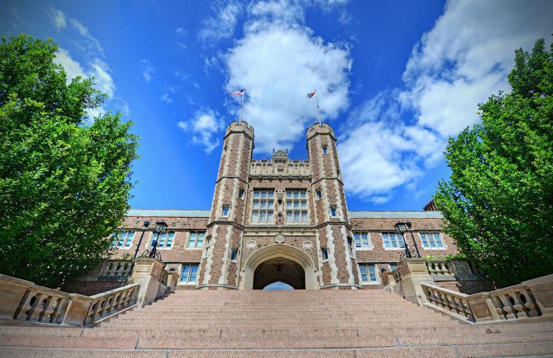 Washington University's Brookings Hall