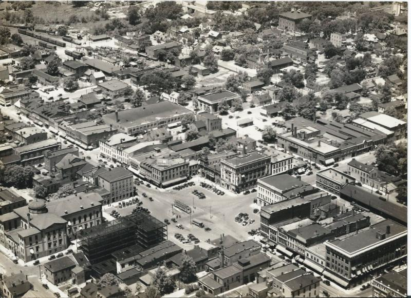 An Aerial View of Belleville from 1929
