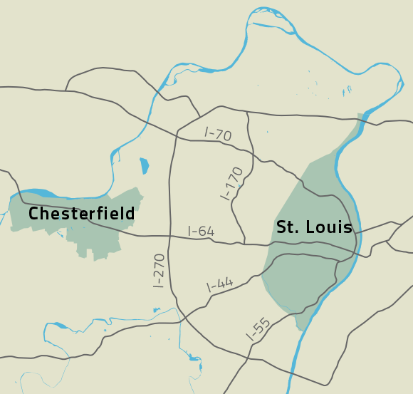 Chesterfield and St. Louis