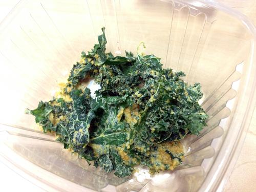 Ranch-flavored kale chips, another Athlete Eats offering.