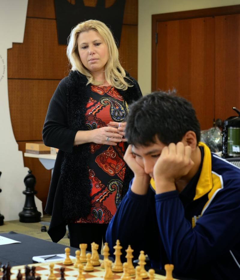Susan Polgar and Wesley So