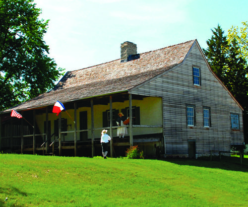 Bauvais-Amoureux House, circa 1792 and part of the Felix Valle State Historic Site