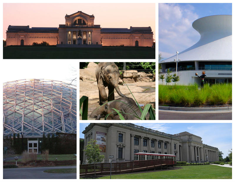 Images from zoo museum district entities