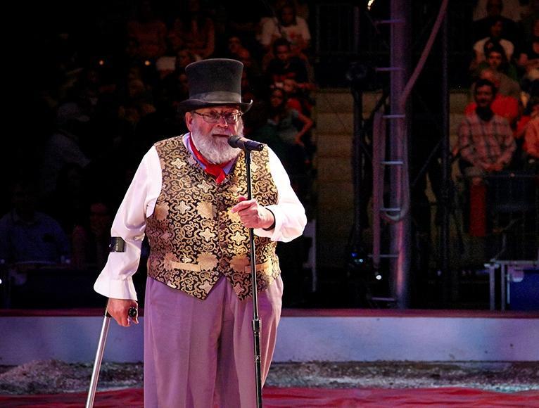 David Balding, founder of Circus Flora