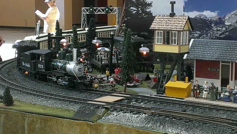 The Gateway Garden Railroad Club, Inc., features trains that you can keep outside.