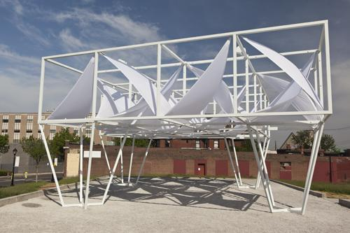 """""""Lots,"""" 2014. Designed by Freecell Architecture for the PXSTL Competition."""