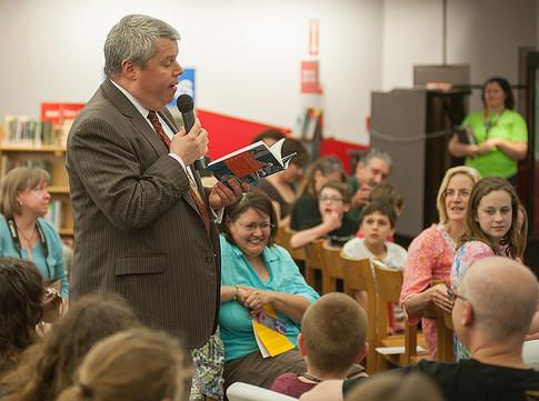 St. Louis Public Library's Family Read night with Lemony Snicket