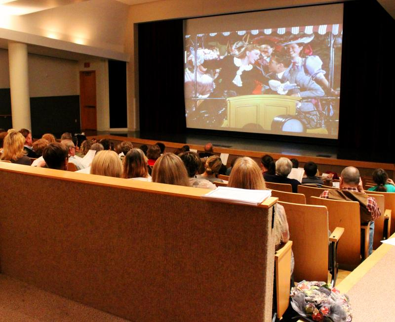 "Fans of the film ""Meet Me In St. Louis"" gathered for a sing-a-long and screening on May 2."