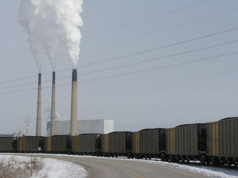Missouri currently gets more than 80 percent of its electricity from coal-fired power plants like Ameren's Labadie power plant, pictured here.