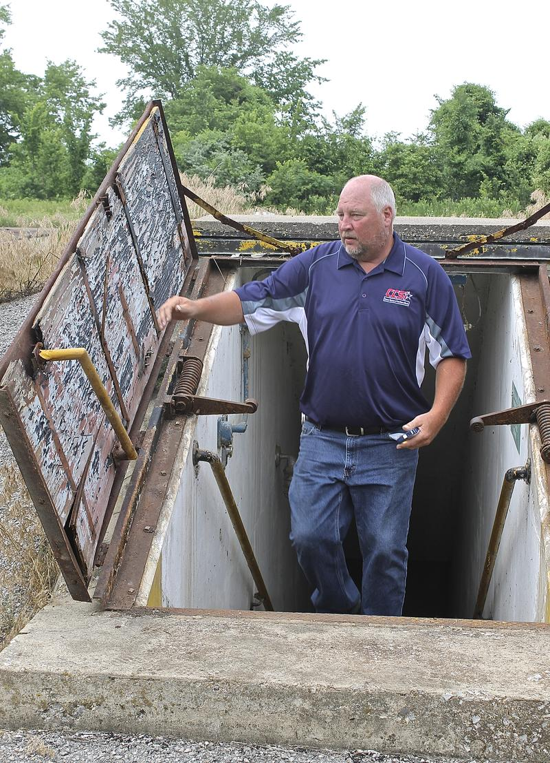 "Richard Wirth, maintenance supervisor at the Career Center of Southern Illinois, which is selling the site, says people are fascinated by the old launch station. ""It's just a piece of history that everybody wants to see,'' he says."