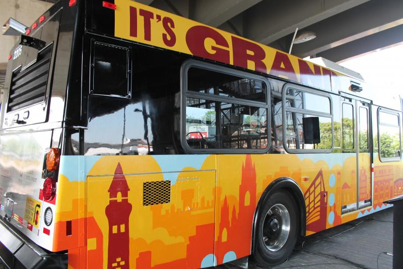 Metro's 60-foot buses will make their debut on Monday.