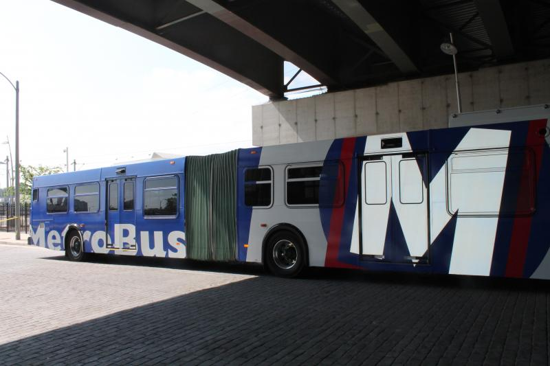 Nations says Metro's bus drivers had no problems making turns.