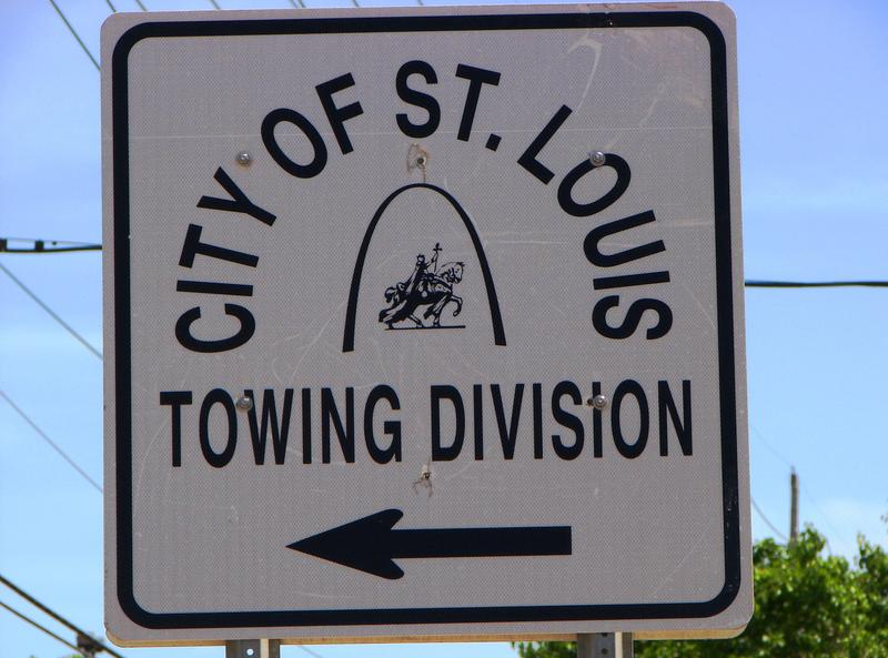 St. Louis' Towing Division is located in an industrial area north of downtown at 7410 Hall St.