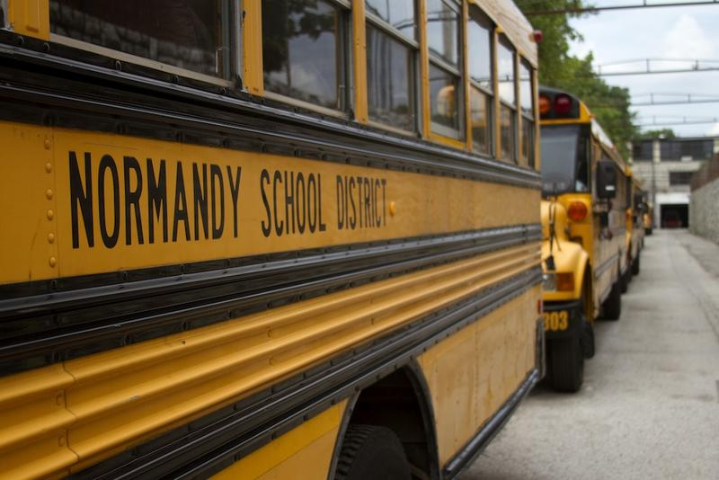 Missouri's board of education Friday granted the Normandy Schools Collaborative provisional accrediation for the first time since 2012.