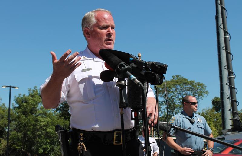 Chief Tom Jackson, summer of 2014