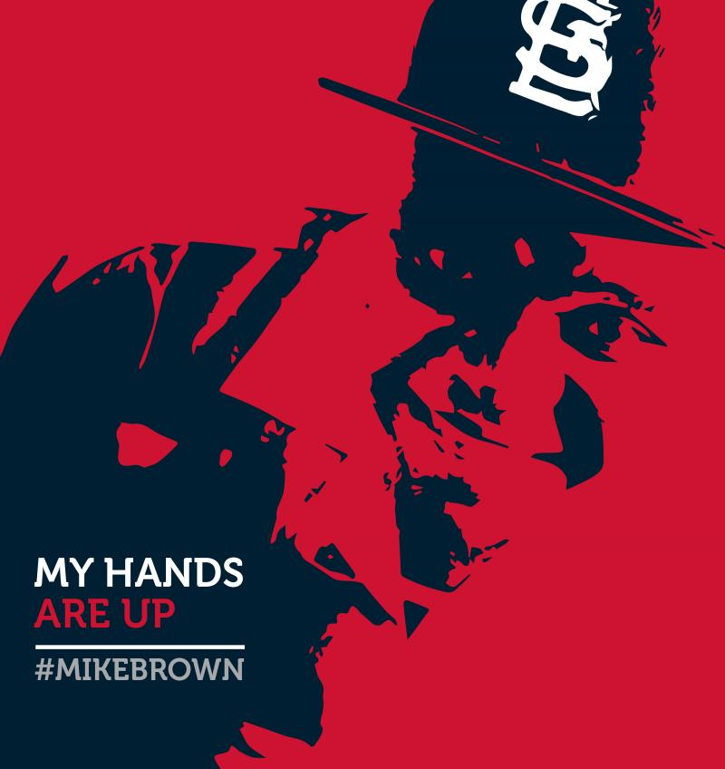 Adrian Franks' Portrait of Michael Brown.