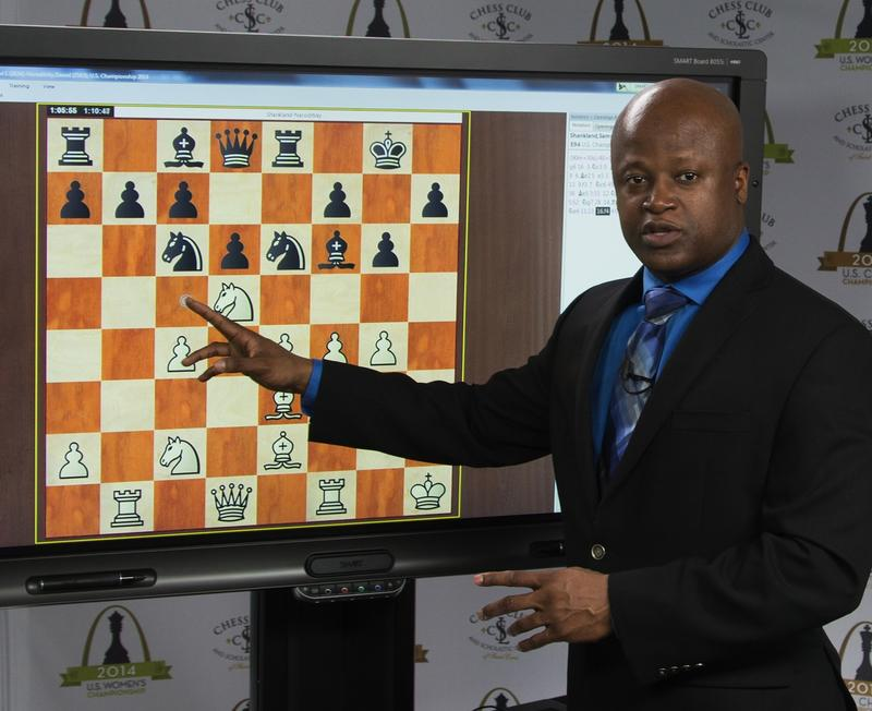GM Maurice Ashley is the promoter of the Millionaire Chess Open, the upcoming tournament with the largest prize fund ever.